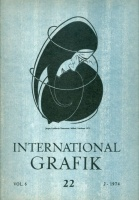 International Grafik 22. Vol. 6. - Jorgen Lindhardt Rasmussen, Paul Reding, Tibor Tenkács, Cornelis Labots.