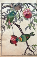090.     IMAO KEINEN : Keinen's Flower-and-Bird Painting Manual (Keinen kacho gafu).