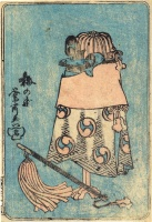 Unidentified artist (Hosokawa Namijiro?) : (Dice game.)