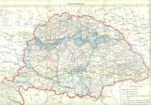 régi és új magyarország térkép Magyarország térképe a régi és az új országhatárokkal, a  régi és új magyarország térkép